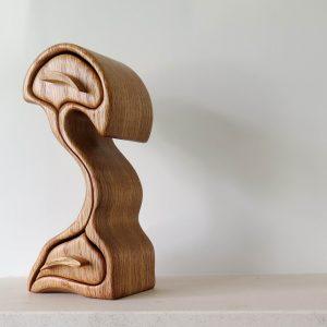 Wooden Jewellery Box - Red Oak
