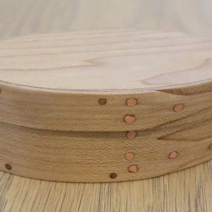 Shaker Oval Wooden Box No 0 Maple