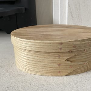 Ash Shaker Oval wooden Box size 2