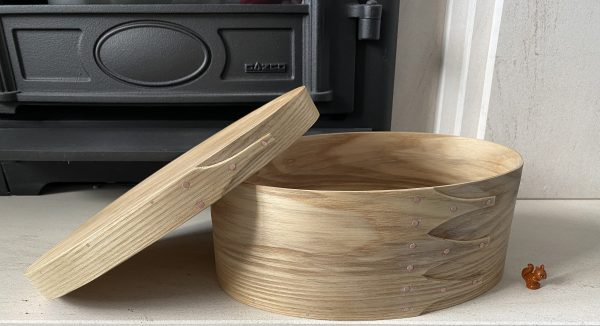 Ash Shaker Oval Wooden Box size 5