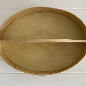 Shaker Maple Oval Carrier