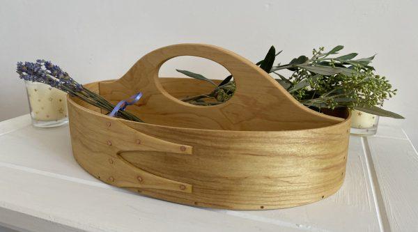 Shaker Maple Oval Carrier